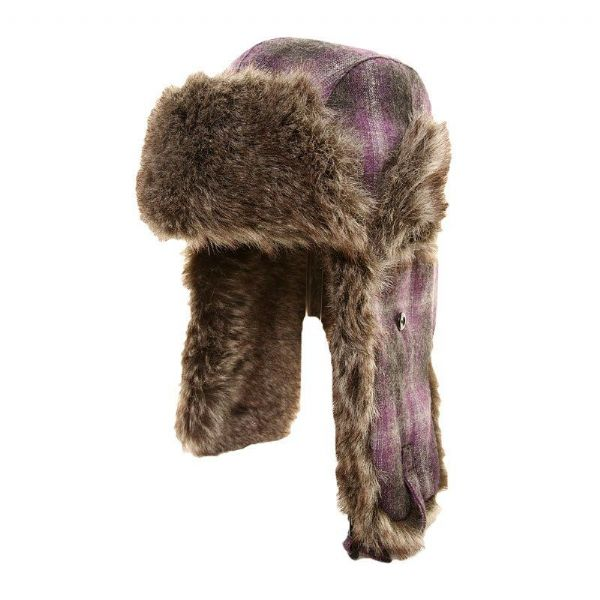 Unisex trapper hat.